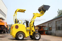 new design electric farm mini telescopic farm wheel loader EPA engine low noise