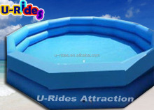 Factory directly large inflatable swimming water pool For Amusement park