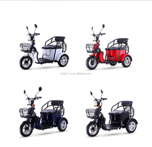 hot selling china 3 Wheel Electric Tricycle Rickshaw/Electric trike scooter/moped For Adult