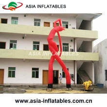 Interesting Inflatable Air Dancer Guitar Man, Customized Inflatable Man Air Sky Dancer With Two Blowers For Advertising