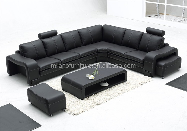 leather 1+2+3 sofa set