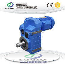 GOOD GK Series Compact High Output Torque Top Helical-Bevel Drive Slow Speed Motor