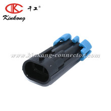 kinkong 2 pin Male Delphi waterproof Housing Auto Connector 12162000