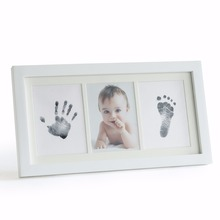 Beautiful Newborn Baby Handprint And Footprint Frame