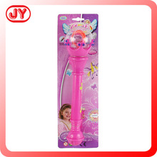 Top seller girl flashing stick toys with light and Music use 3AA with EN71 ASTM and more for kids