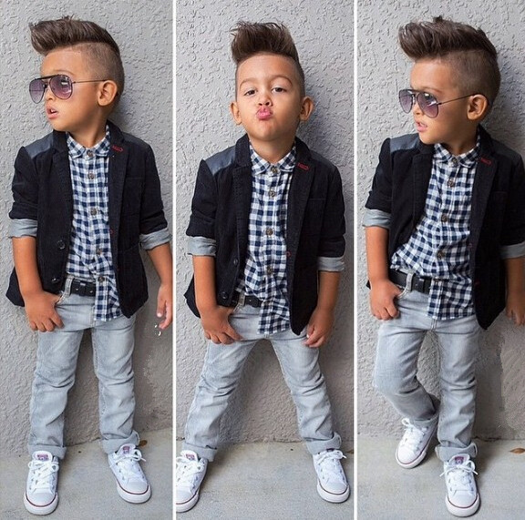 Shirt Jeans Suit 3 Piece Kids Children's Boutique Clothing
