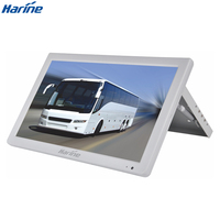 All new Manual Flip down 15.6 inch TFT LCD LED Display Screen for bus