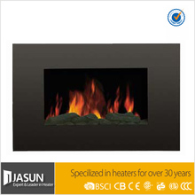 Wall Mounted Flame Effect Electric Fireplace with Remote Control