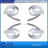 Open ended industrial timing belts T10