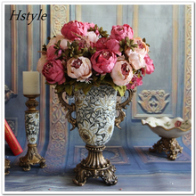Decorative Artificial Rose Flower Ball For Wedding Decoration Flower Rose FZH007