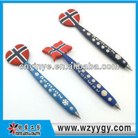 Promotion Animal and nation Shaped Soft Pen