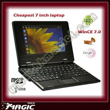 Chinese 7 inch android WSVGA wide-screen super cheap laptops