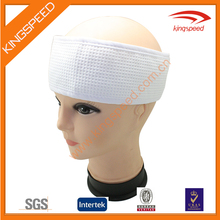 BSCI waffle cloth customized logo absorb spa premium head band