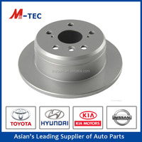 Toyota camry parts brake disc rotor 42431-33010 with high performance