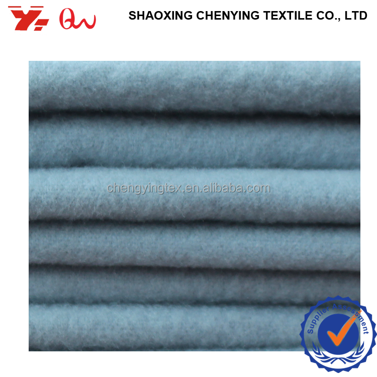 international wholesale IMITATION WOOL FABRIC / wool-like polyester spandex blend fabrics used fashion women clothing