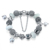 Authentic Silver Crystal Mini Pearl Pendant Beads Charms Bracelet For Women Wholesale Copper Bracelets Bangles Gift