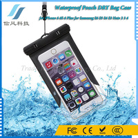 Universal ABS PVC Waterproof Pouch DRY Bag Case for iPhone 6 6S 6 Plus for Samsung S6 S5 S4 S3 Note 2 3 4 for Swimming