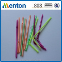 wholesale plastic hard fluorescent bendy straw factory