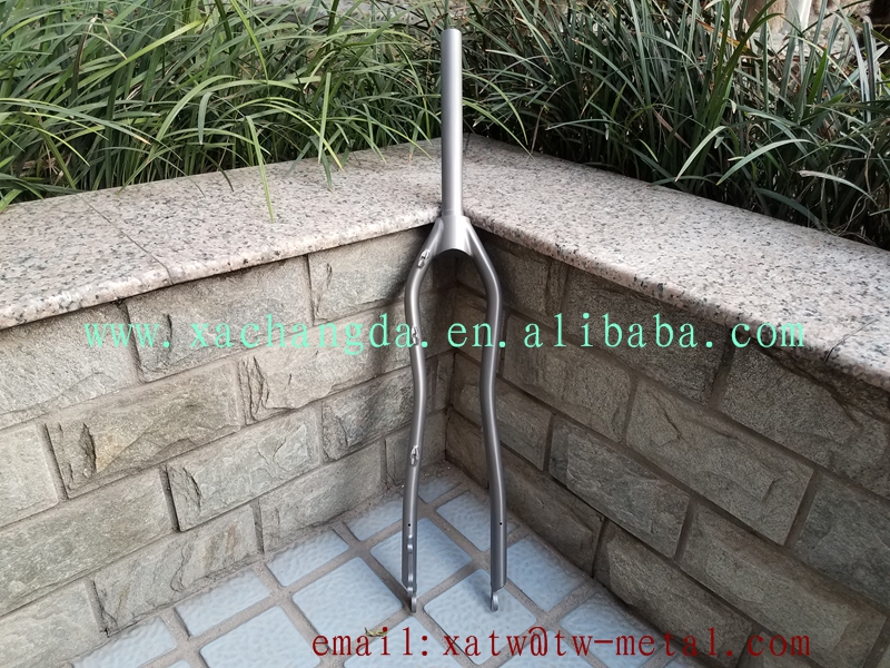 titanium mtb bicycle fork Titanium mountain bike fork Ti mtb fork 29er