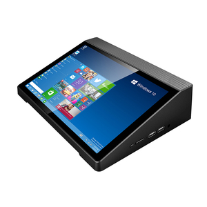 All-in-one 10.1 inch LCD Touch Screen Mini PC Windows10 DDR3 4GB RAM HDMI VGA