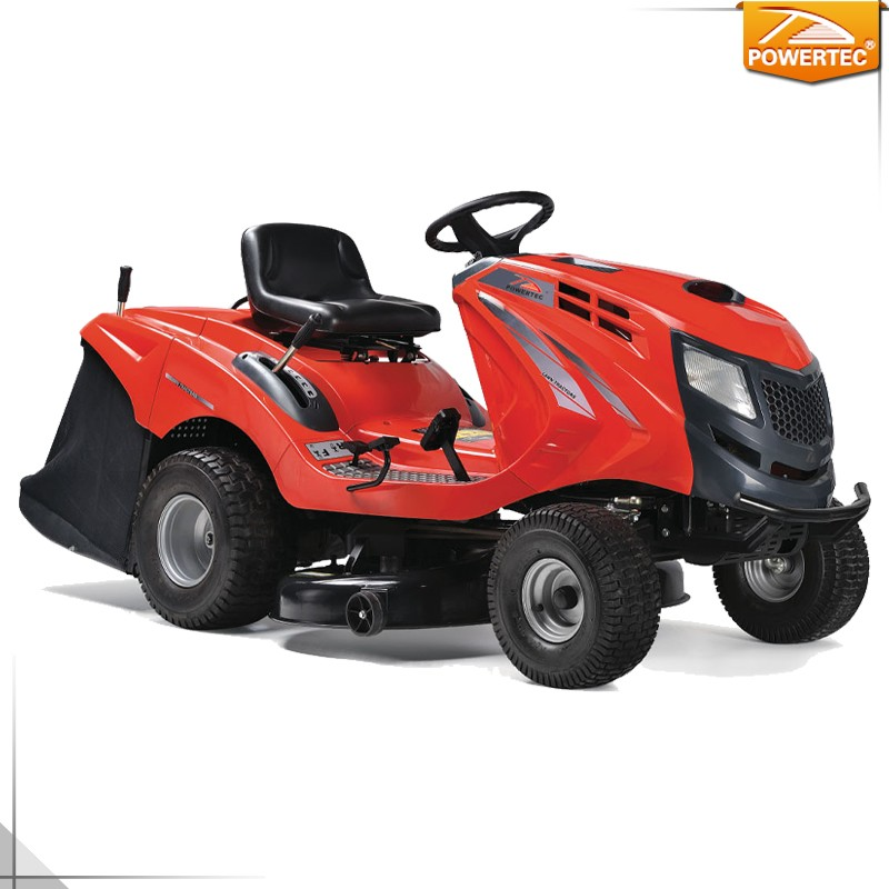 POWERTEC 13.5HP 92cm(36.2in) Ride on Garden Lawn Tractor