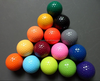 custom colorful large plastic golf ball with golf box