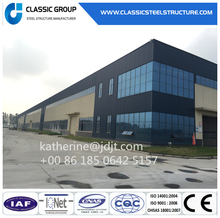 Steel Frame Prefabricate Modular Warehouse Building China Plans