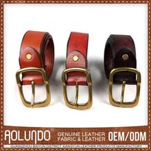 Best Factory Direct Sales Customization Leather Belts With Changeable Buckles