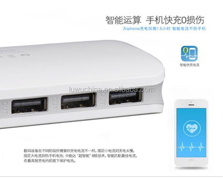 China manufacturer 2600mah charger power bank for iphone