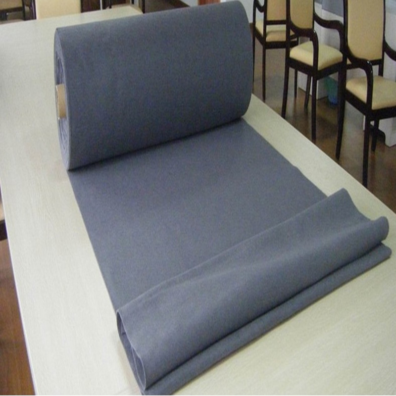 2017 China hot style needle punched Polyester non woven manufacturer PET felt