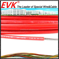 Heat resistant stranded copper wire