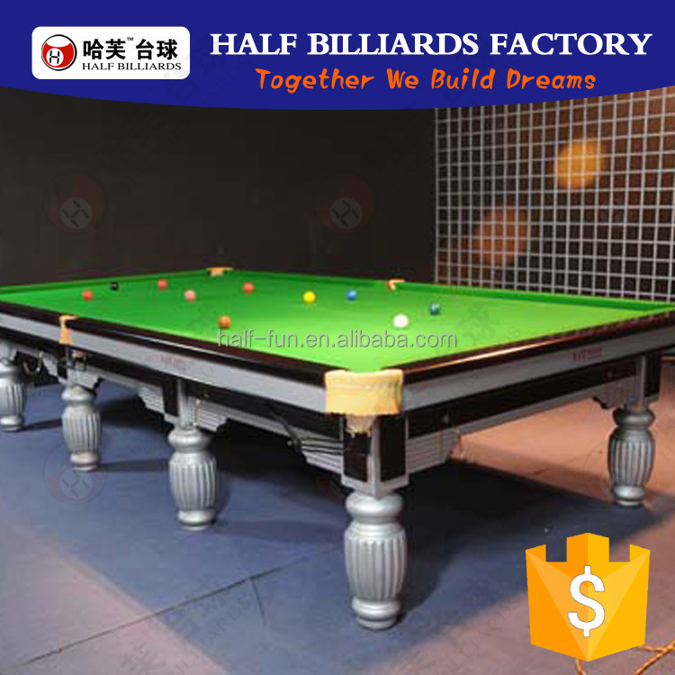 high quality cheap black snooker pool table for sale