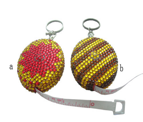 Retractable Bling Fancy Tape Measure