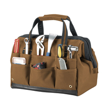 1TL0065 Custom Made Canvas Leather Bar Tool Bag For Electrician