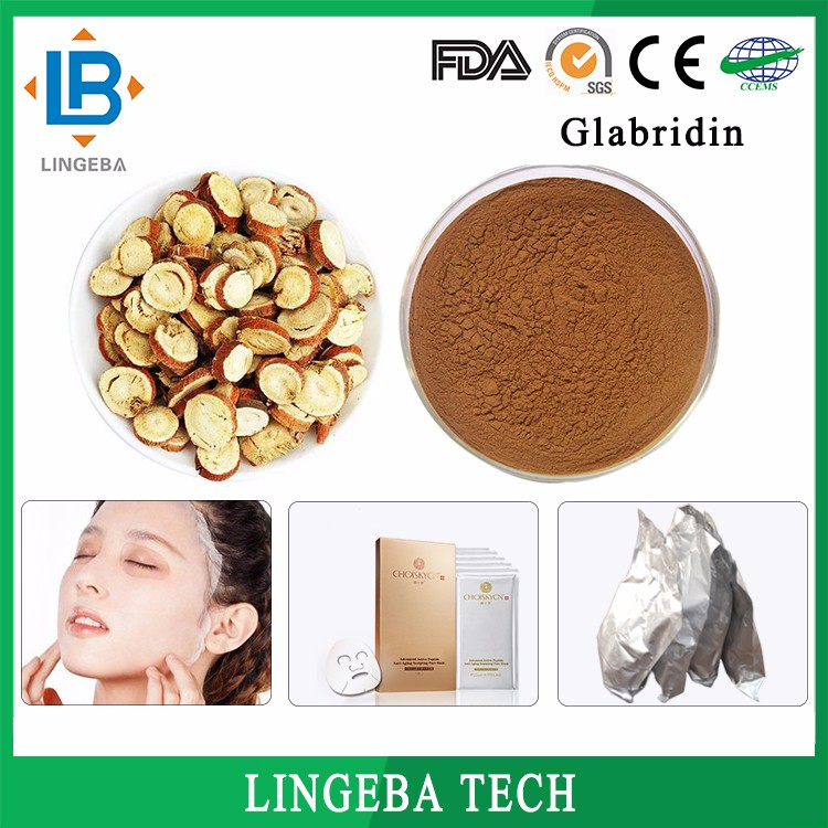 LGB Factory Directly Wholesale CAS 59870-68-7 Glabridin-40