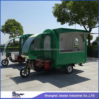 JX-FR220G reputed Powerful Commercial Outdoor Mobile Food Customized electric tricycle