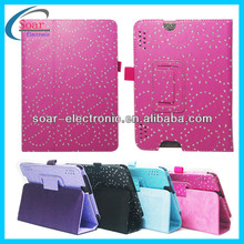 china websites that accept paypal leaf diamond leather case for kindle fire hdx 7