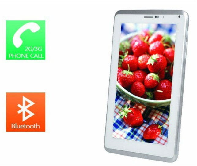 Hot Sale ! 7 inch tablet pc 512mb 4G Capacitive Touch Screen +built-in 3G+Android 4.0+dual Camera+Wifi+GPS+bluetooth+phone call