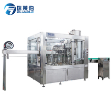 PET Bottle Automatic Carbonated / Soda Water Filling Machine