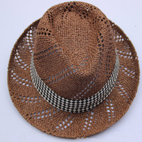 The New Style Europe Rural England Hollow Men And Women Beach Hat