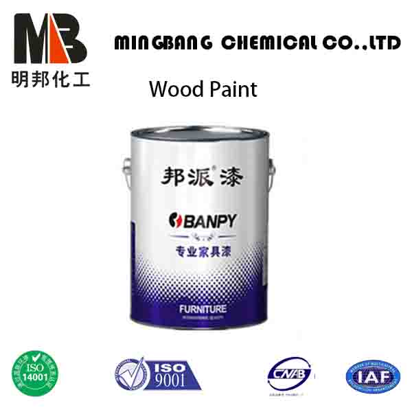 Two packs pu coating paint on wood