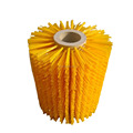 Industrial Brush Type airport road sweeper brushes with pp bristle