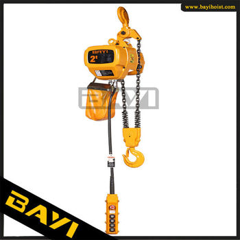 2 Ton Electric Chain Block Lifting Chain Hoist bridge crane hoist device