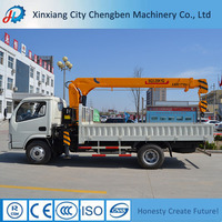Different models small crane with truck mounted with competitive prices