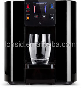 Lonsid's Easy to use pou hot & cold smart water dispenser
