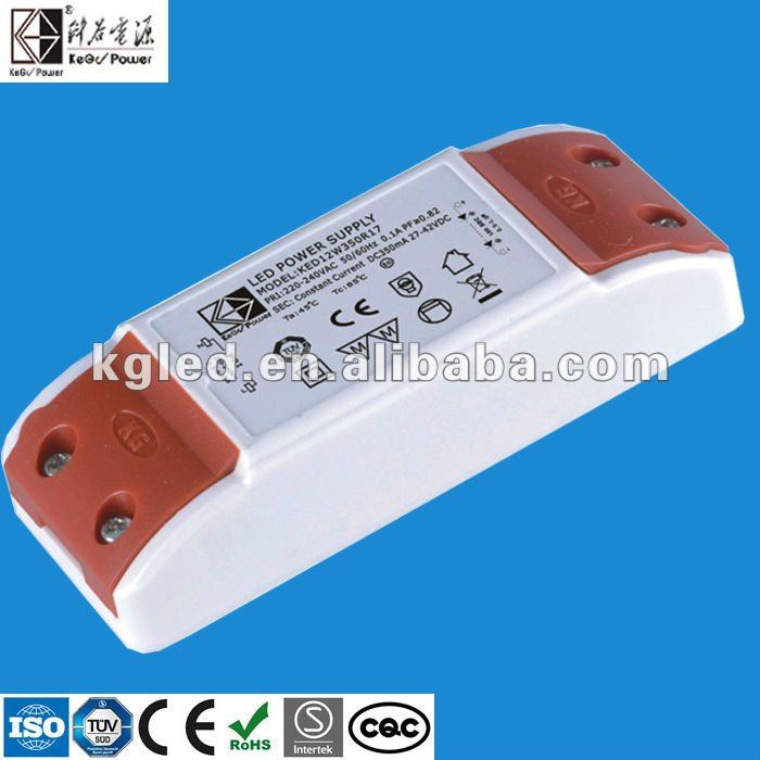 700mA 12V 12W constant current LED driver with TUV CE