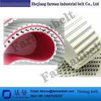 White/red Rubber/apl Coating Endless Timing Belt For Ceramics/marble/tiles/stones/glasses Edge Grinding Machines