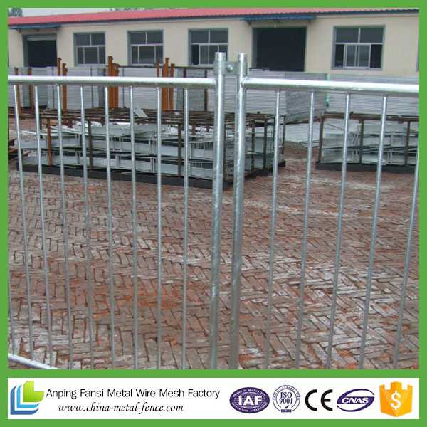 Portable Steel Round Iron Pool Fencing