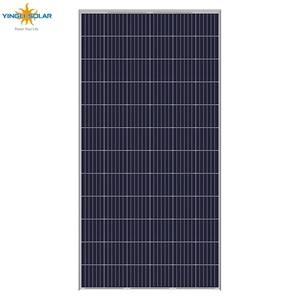 China manufacture PV solar panel 300w 320w 325 watt 350watt 40% efficiency square frameless poly solar panel price philippines