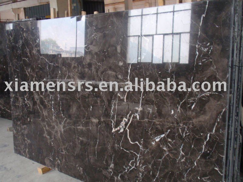 Chinese cheap emperador dark brown marble polished big slabs